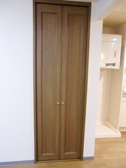 オーシャンヒルズ東山_洋室の扉の閉じた状態の収納