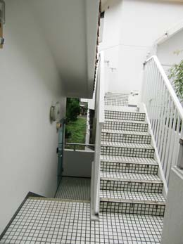 エスポワール中目黒_外階段