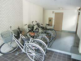 フルール中目黒_自転車置場