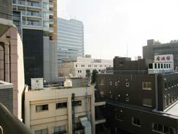 プリヴェール目黒行人坂_バルコニーからの景色(左側)