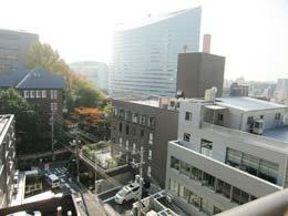 プリヴェール目黒行人坂_バルコニーからの景色(右側)
