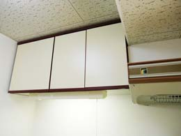フルール中目黒_キッチン上部の収納