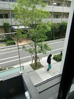 アパートメンツタワー目黒_窓からの景色