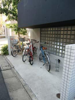 目黒ポイント_自転車置場