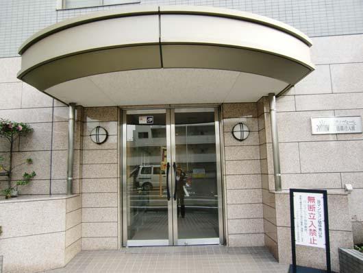 プリヴェール目黒行人坂_エントランス