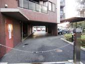 ダイアパレス シェルトワレ 目黒_駐車場入口