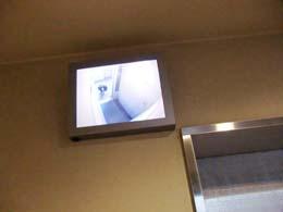 ダイアパレス シェルトワレ 目黒_エレベーターの防犯モニター