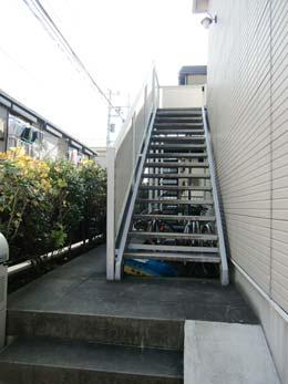 シャルム目黒_外階段