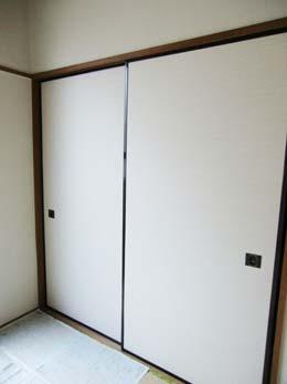 第1コーポ森田_和室の押入れ