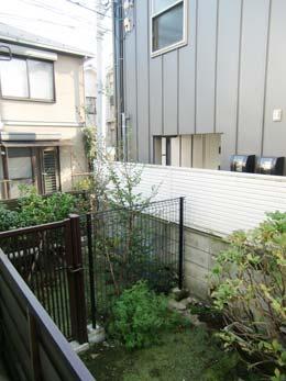 第1コーポ森田_プランターからの景色(左側)