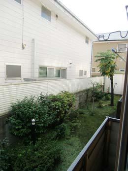 第1コーポ森田_プランターからの景色(右側)