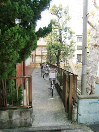 ラ・カーサ_自転車置場
