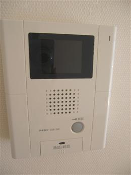 ファインクレスト上目黒_TVモニター付インターホン(受信側)