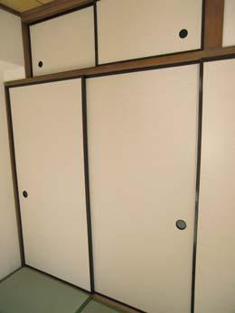 シャンボール五反田_和室の押入