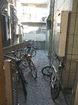 AMNES武蔵小山_自転車置場