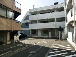 コンフォート中目黒_駐車場