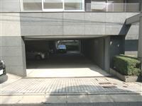 祐天寺イースト_駐車場入口