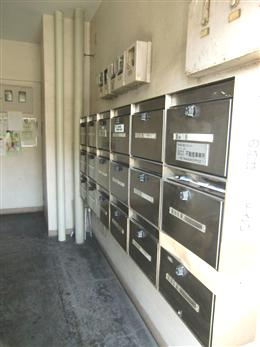 サンモア学芸大マンション_メールBOX