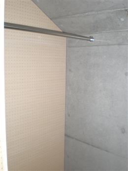 イプセ祐天寺_7.7帖の洋室のウォークインクローゼット(右側)
