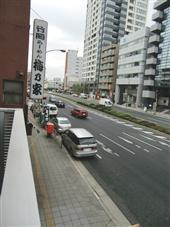 ブランシック白金台_バルコニーからの景色(左側)
