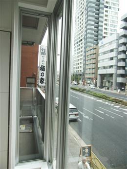 ブランシック白金台_窓からの景色(左側)
