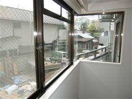 メブキ太子堂_コーナー窓
